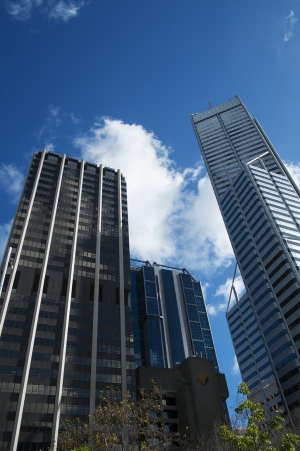 Downtown Perth, Australia stock photos