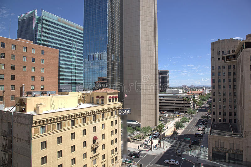 Downtown Phoenix, Arizona stock photography