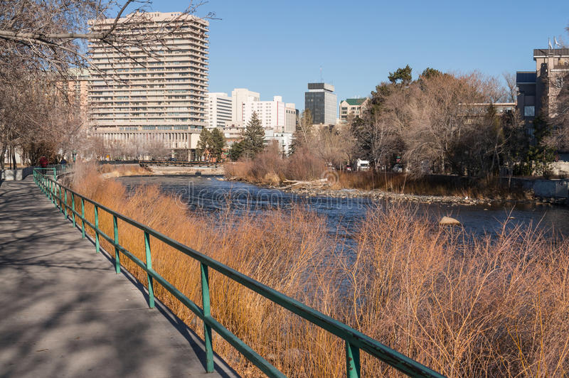 Download Downtown Reno, Nevada stock image. Image of bridges, condominiums - 29041525