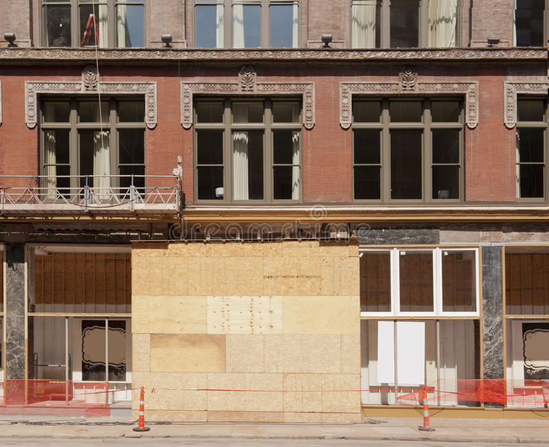 Download Downtown Renovation stock image. Image of boards, contractor - 21143203