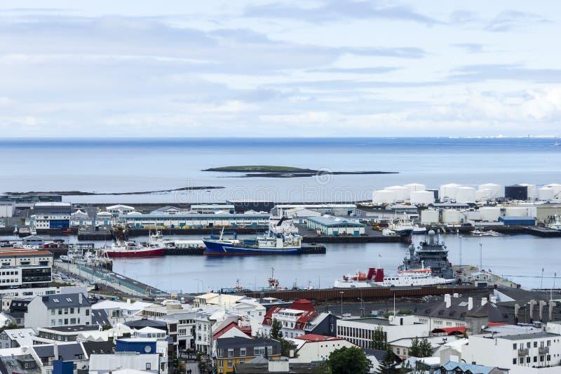 Download Downtown  Reykjavik, Iceland Stock Image - Image: 33929741