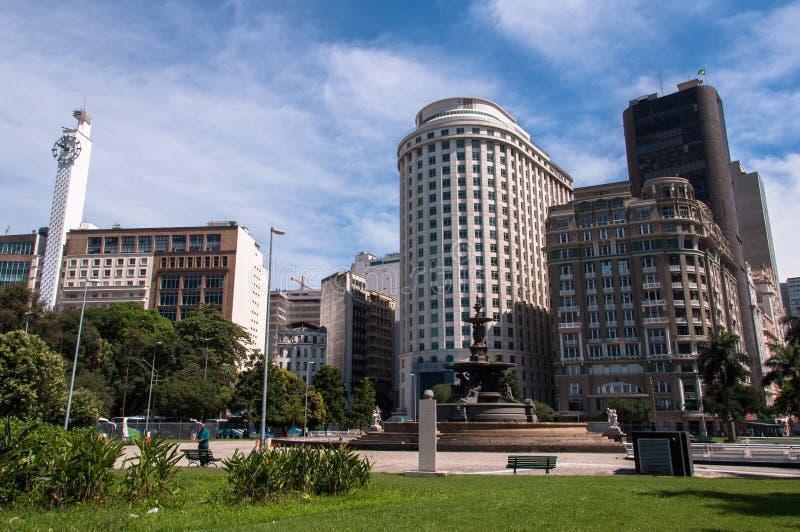 Downtown Rio de Janeiro stock photo