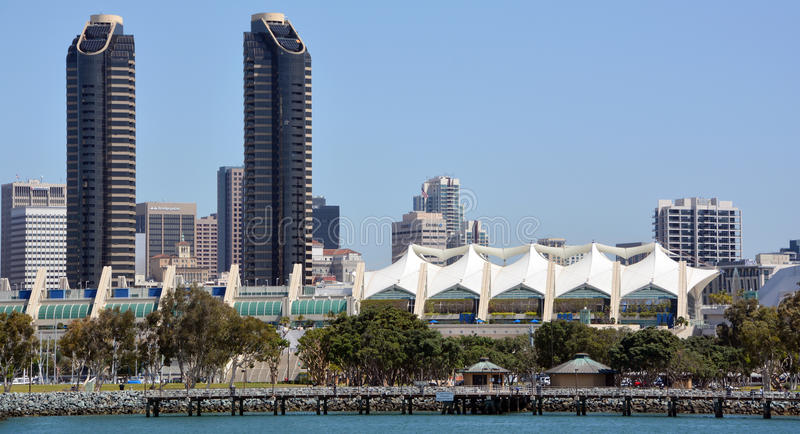 Downtown San Diego. SAN DIEGO CA USA APRIL 6 2015: Downtown San Diego the eighth largest city in the United States, downtown San Diego serves as the cultural stock photos
