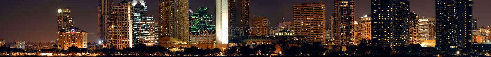 Download Downtown San Diego Night Stock Photos - Image: 4310143