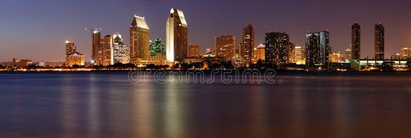 Downtown San Diego panorama stock photo