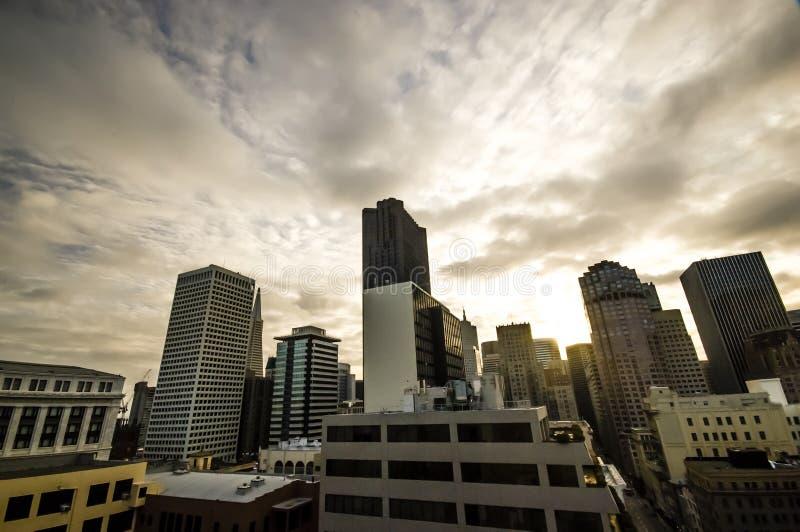 Download Downtown San Francisco stock photo. Image of scraper - 26395980