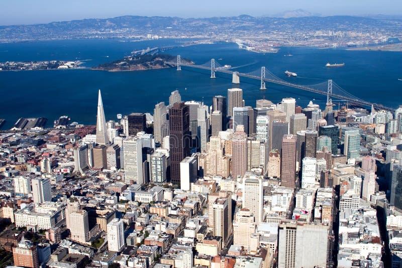 Downtown San Francisco, California royalty free stock photos