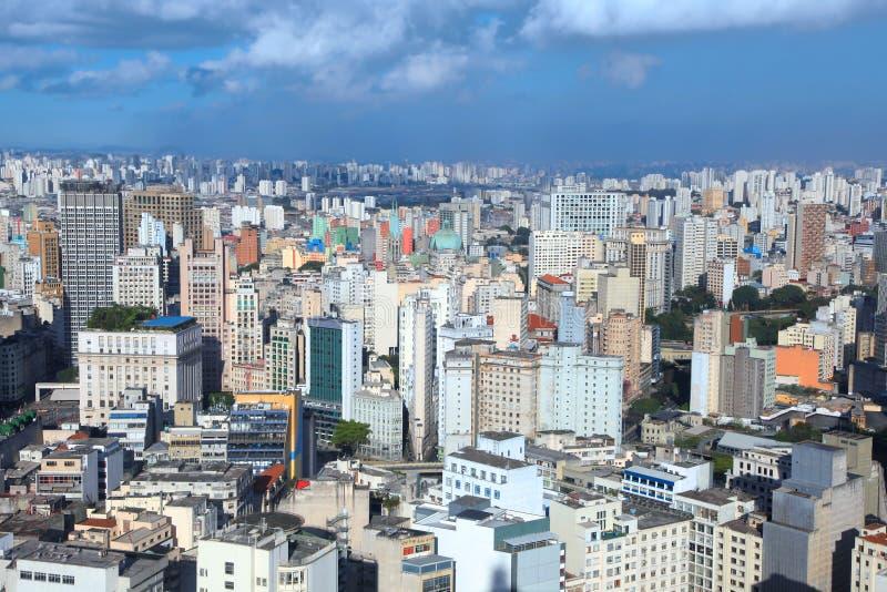 Downtown Sao Paulo royalty free stock photography