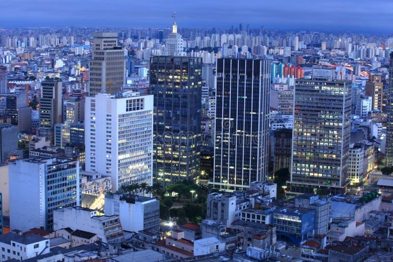 Downtown Sao Paulo stock photos