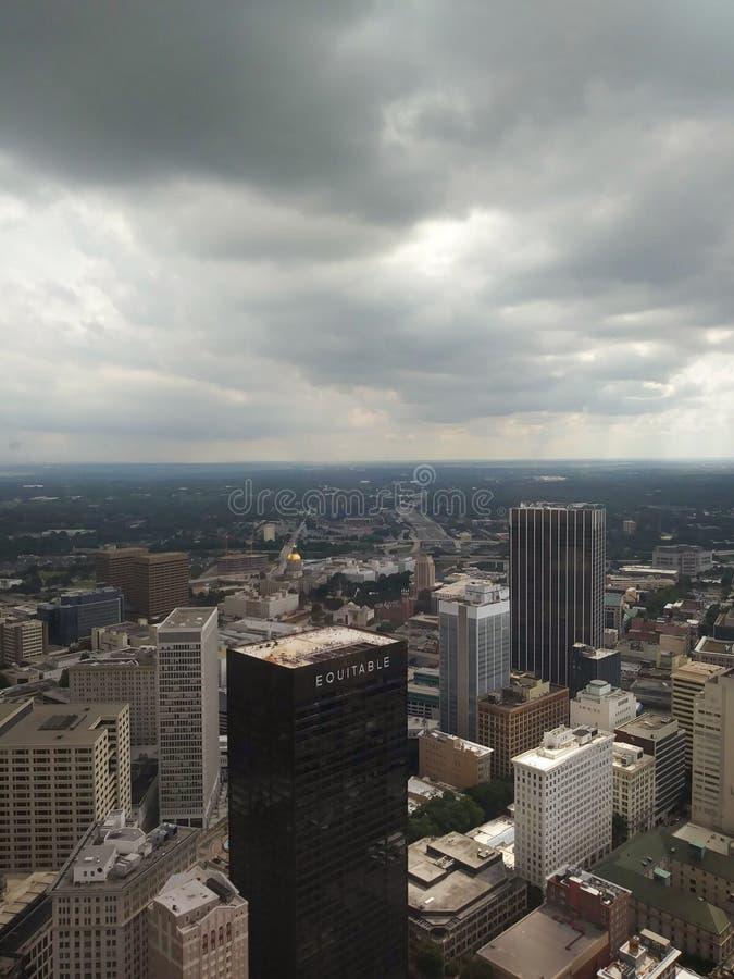 Downtown Skyline, Atlanta, Georgia. royalty free stock photography