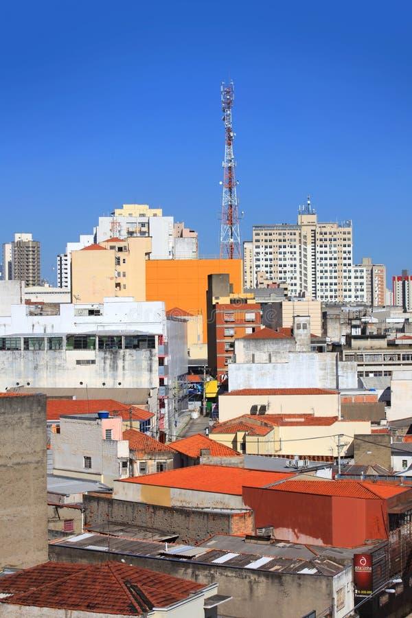 Downtown Sorocaba stock image