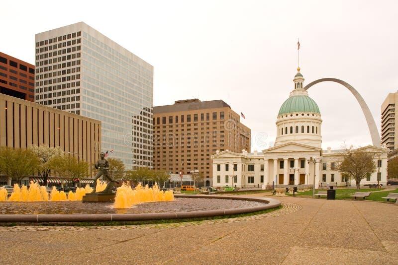 Downtown St. Louis Stock Photo