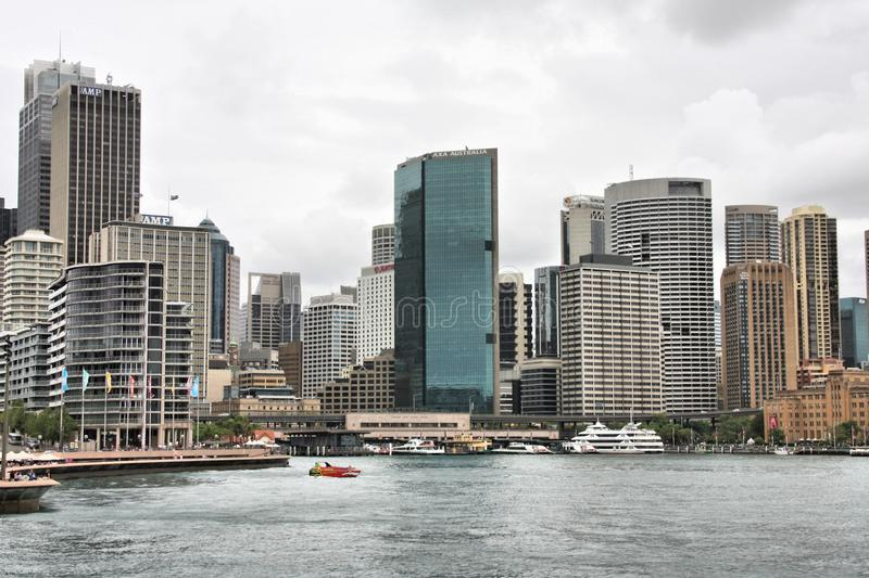 Downtown Sydney royalty free stock photo