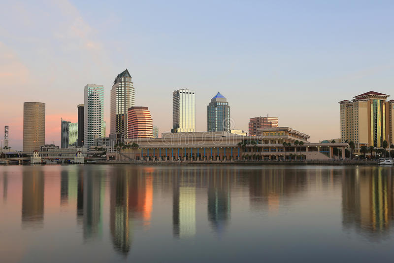 Downtown Tampa, Florida royalty free stock photo