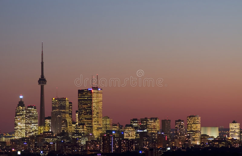 Downtown toronto royalty free stock images