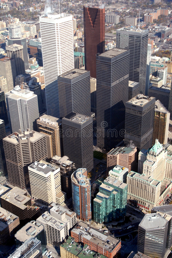 Downtown Toronto stock photography