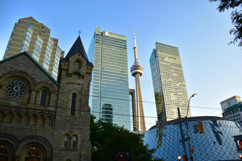Downtown Toronto royalty free stock image