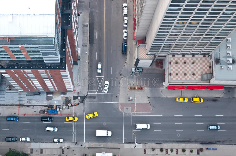 Download Downtown traffic stock photo. Image of buildings, view - 14854314