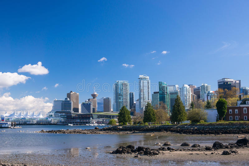 Downtown Vancouver stock photography