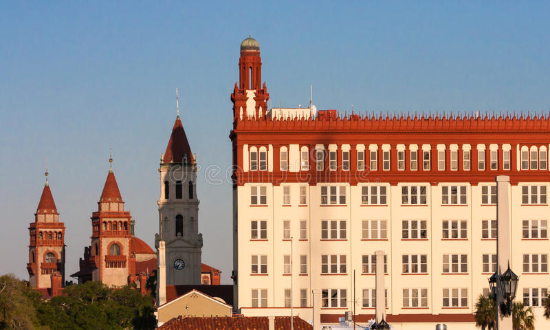 Download Downtown Waterfront Of St. Augustine Florida Stock Photo - Image: 31111038