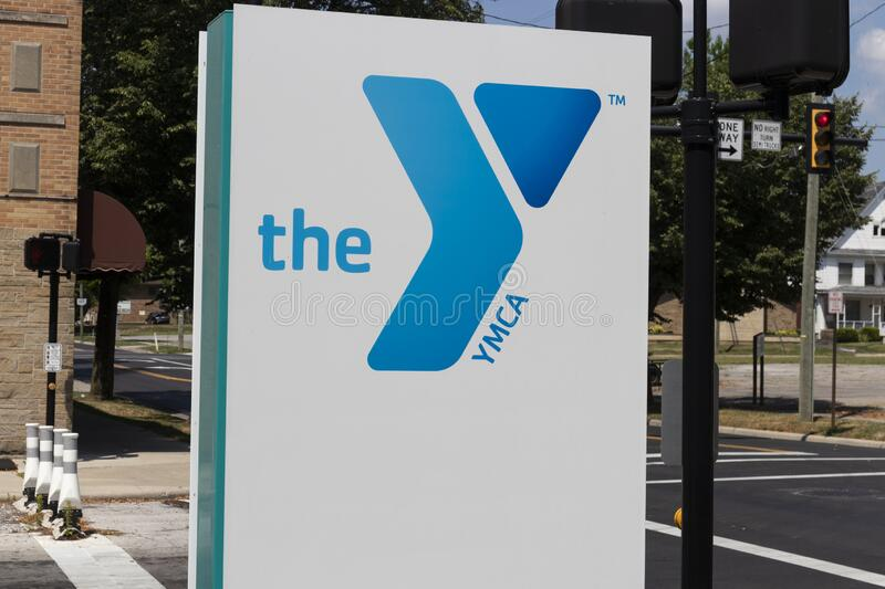 Downtown YMCA. The YMCA works to bring social justice to young people and their communities royalty free stock image