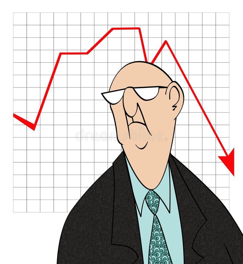 Download Downturn in Sales stock illustration. Illustration of chart - 16311094
