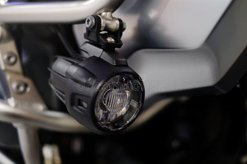 DOWODZENI motocykl mgły światła, dodatkowy oświetlenie, napędowy bezpieczeństwo fotografia royalty free