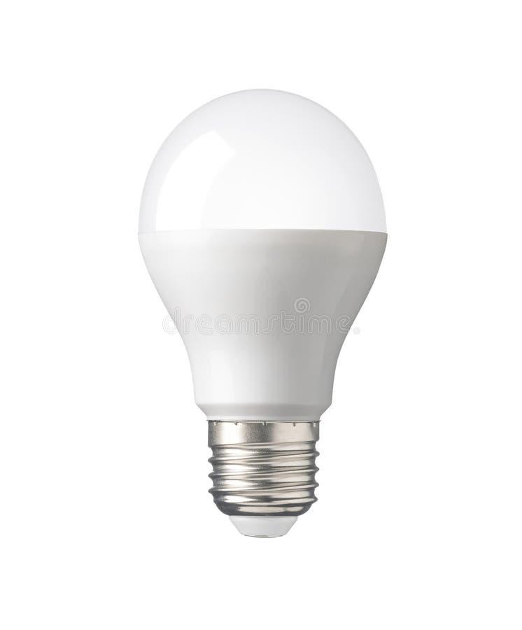 DOWODZONA żarówka, nowej technologii elektryczna lampa dla ratować energię, obrazy stock