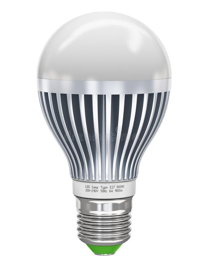 DOWODZONA lampa ilustracji