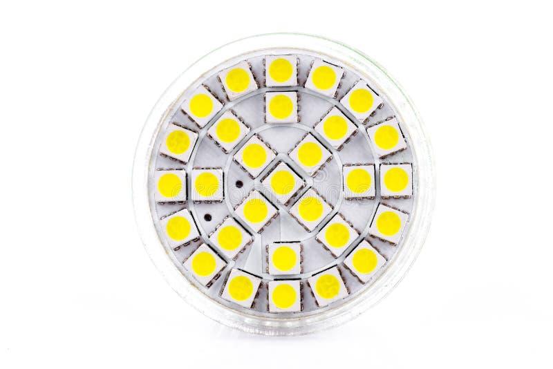 Dowodzona lampa fotografia stock