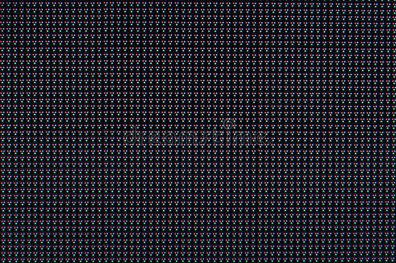 dowodzona panelu rgb ekranu tekstura zdjęcia royalty free