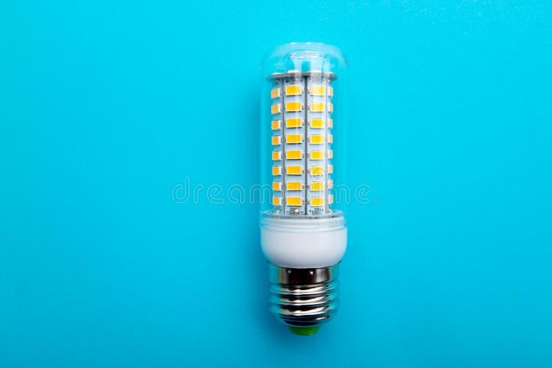 DOWODZONY lampy E27 SMD żarówki światła Kukurydzany światło reflektorów zdjęcia royalty free