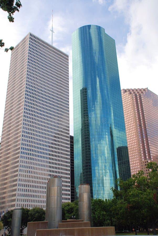 Dowtown Houston fotografia stock libera da diritti
