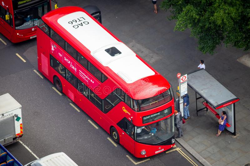 Doyble Deckerbus Londons stockbilder