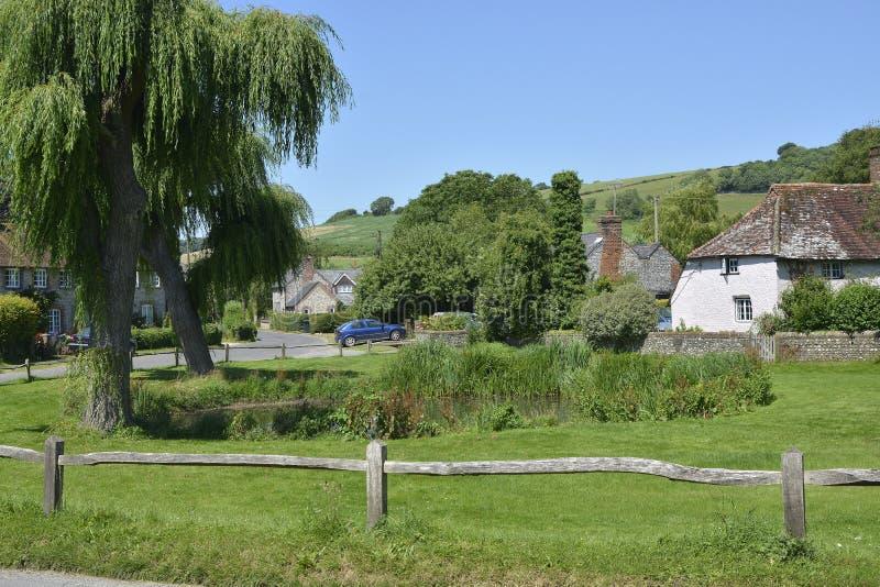 Doyen est Village, Susex occidental, Angleterre image stock