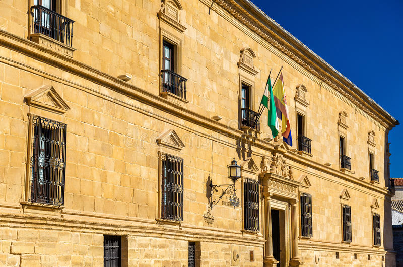 Doyen Ortega Palace à Ubeda, Espagne photographie stock libre de droits