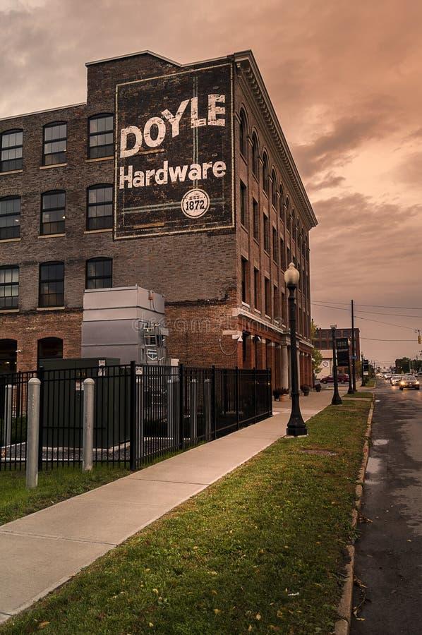 Doyle Hardware royaltyfria bilder