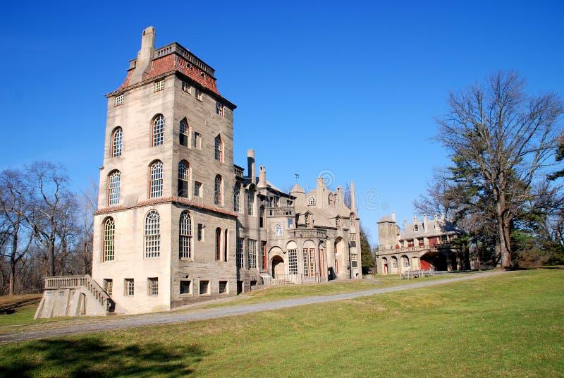 Doylestown, PA: Mansión histórica de Fonthill foto de archivo libre de regalías