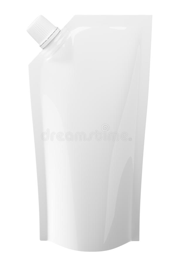Doypa?k de empaquetage de mayonnaise illustration stock