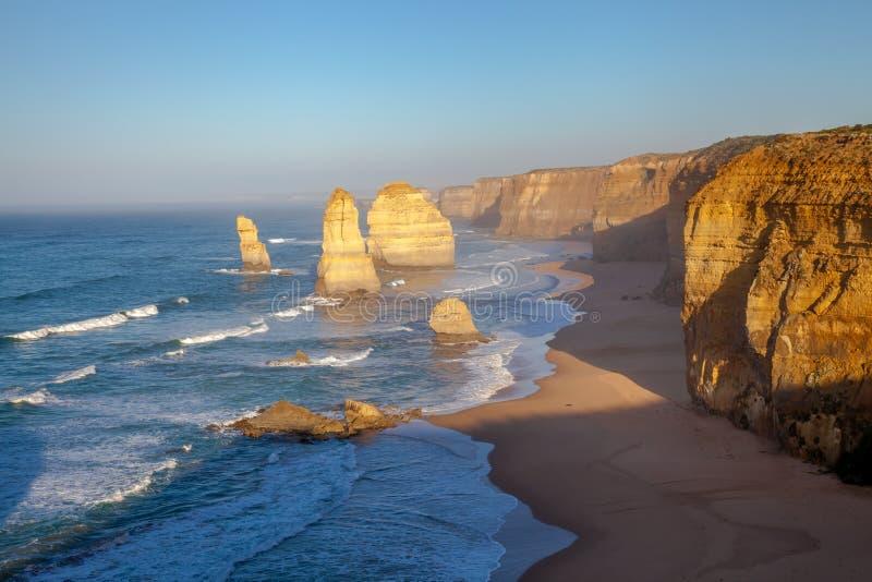 Doze apóstolos Austrália foto de stock