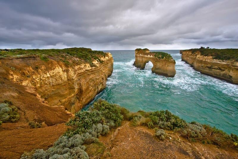 Doze apóstolos, grande estrada do oceano fotos de stock royalty free
