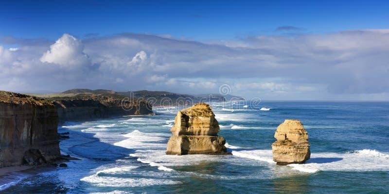 Doze apóstolos Victoria Australia fotografia de stock royalty free