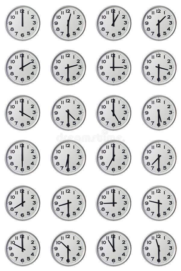 Download Doze Horas Foto De Stock Imagem De Objetos Minuto Minutos