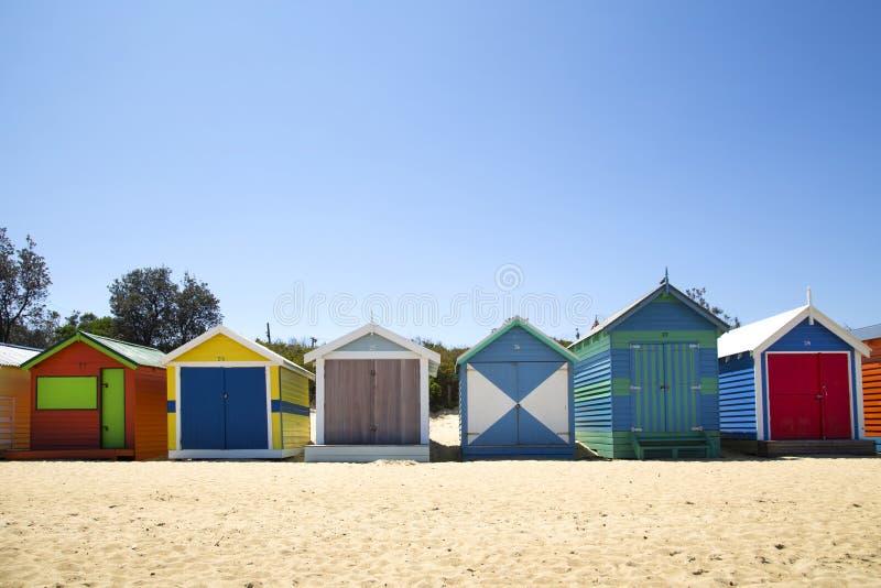 Dozen in Brighton, Australië stock fotografie