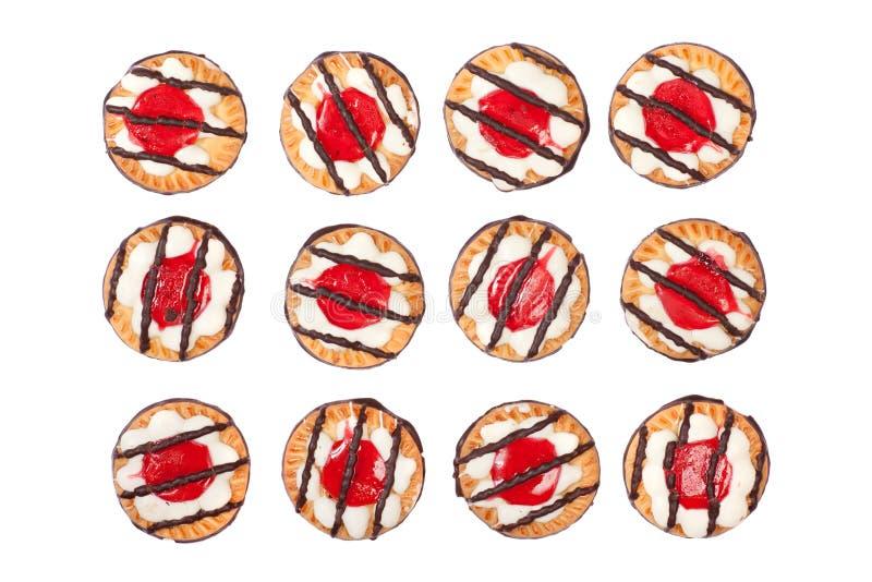 Dozen of Delicious Cookies stock photo