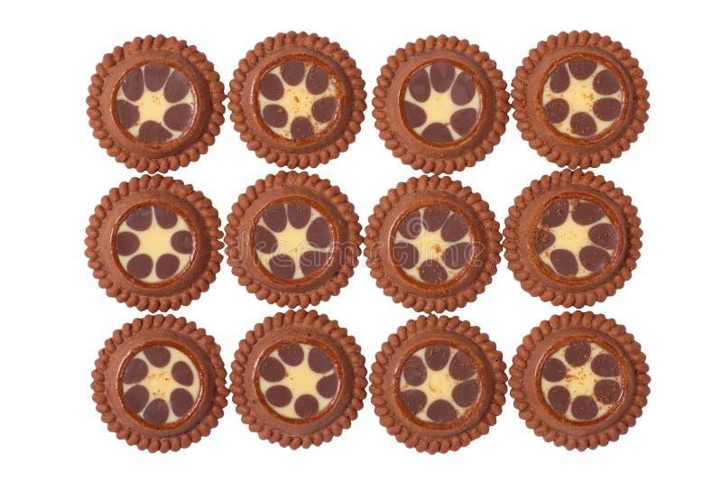 Dozen of Delicious Cookies stock image