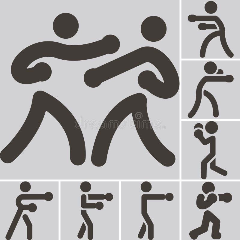 In dozen doend pictogram vector illustratie