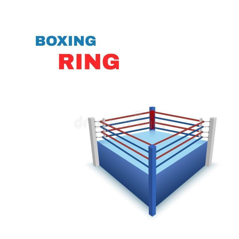 In dozen doend Ring Isolated op wit Vector royalty-vrije illustratie
