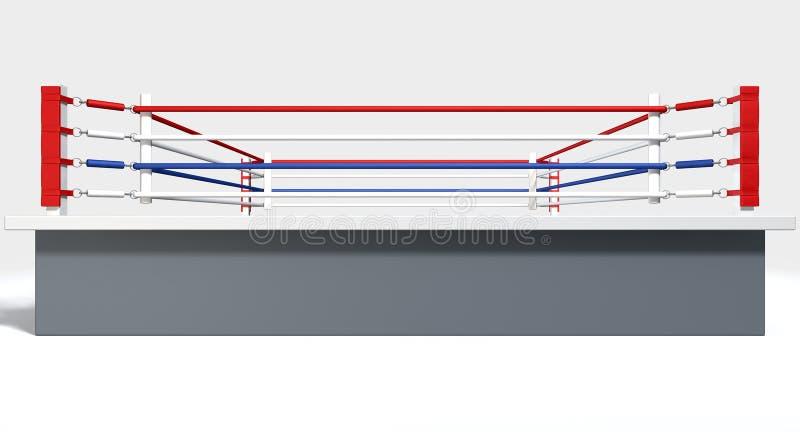 In dozen doend Ring Isolated White vector illustratie