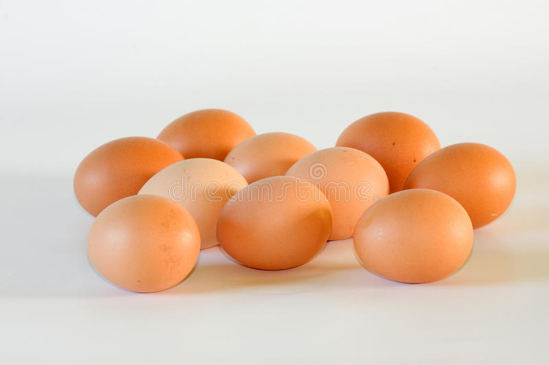 A Dozen Eggs Stock Image